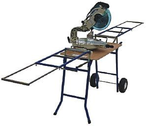 Trojan Manufacturing Wide Body Miter Saw Stand Tools Of