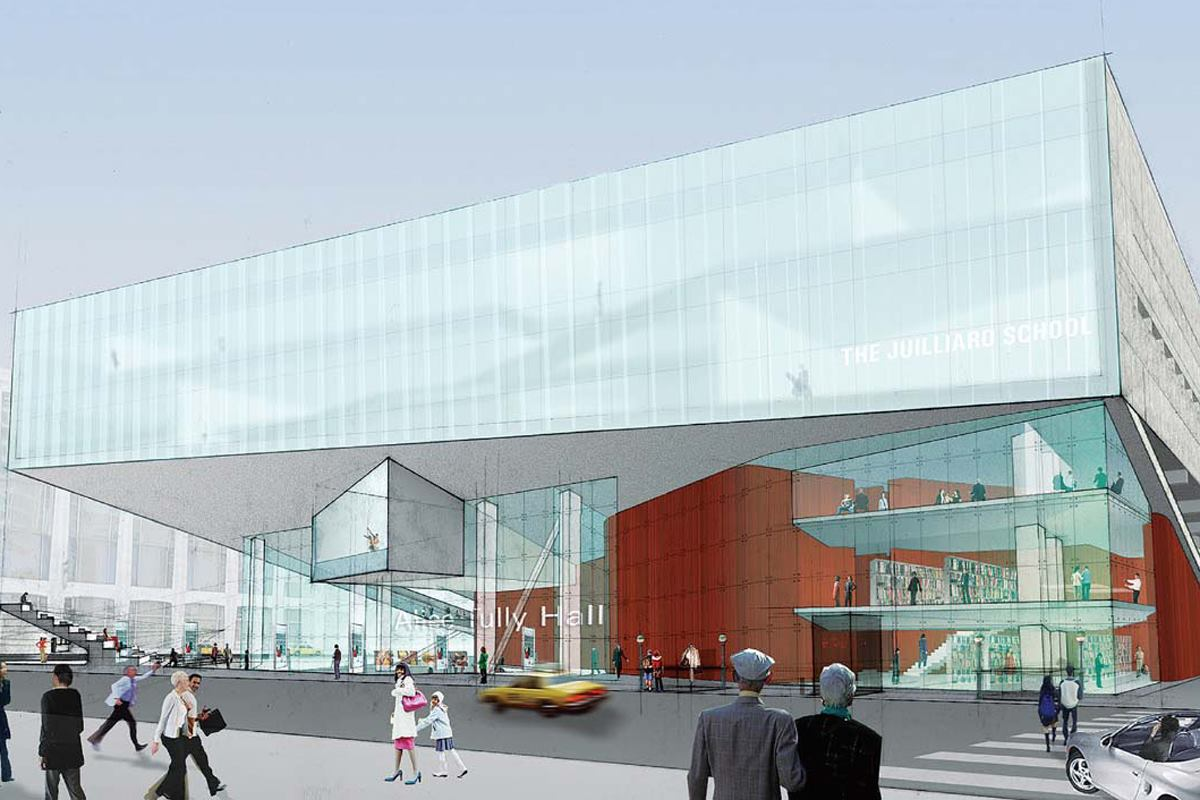 Alice Tully Hall Is Remade At Lincoln Center Architect
