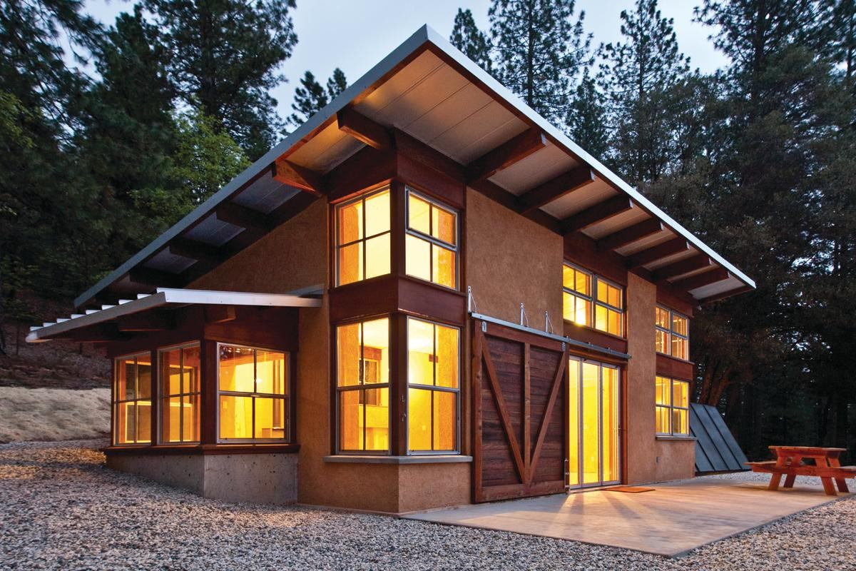 Mountain solo residential architect green building - Cost of solar panels for 3 bedroom house ...
