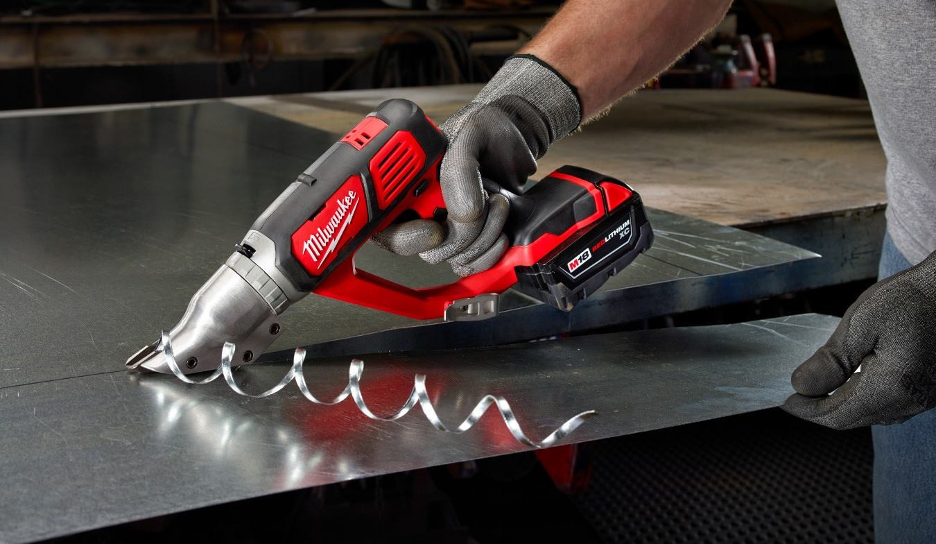 Milwaukee M18 Metal Shears Tools Of The Trade Cordless
