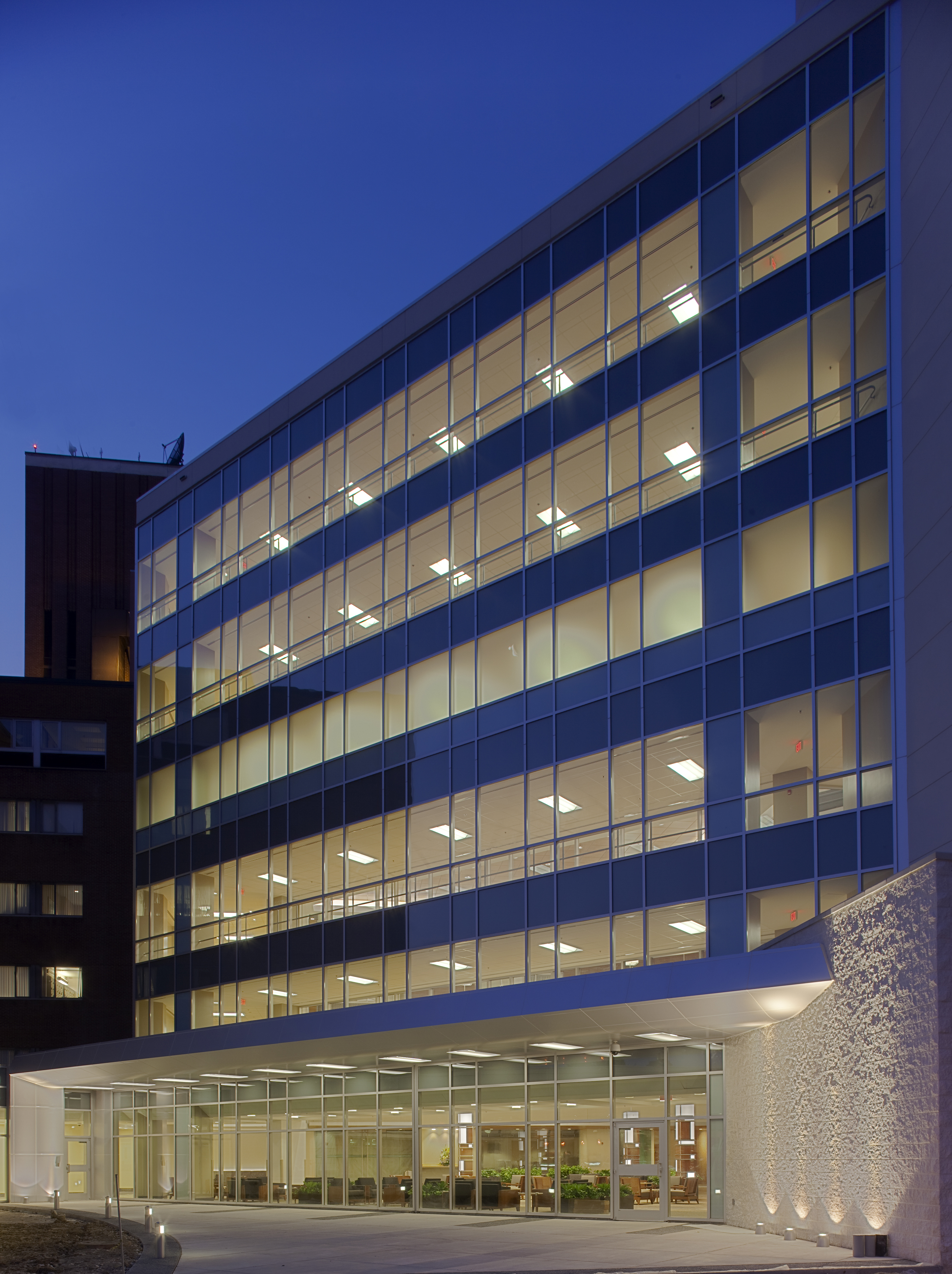 Atrium At Sinai Hospital Of Baltimore Architect Magazine