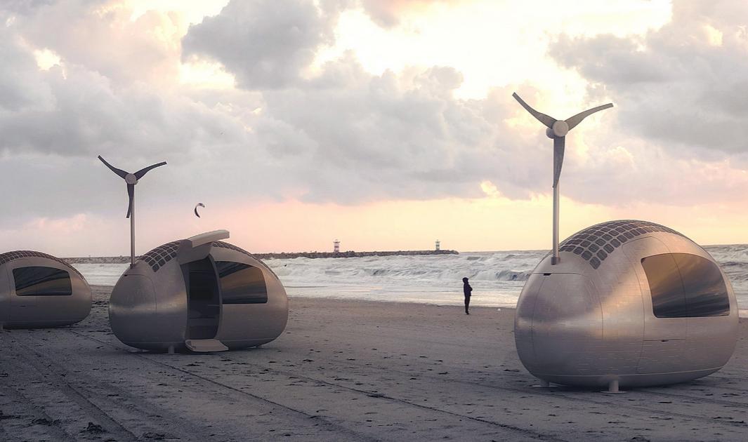 Ecocapsule A Tiny Home For Eco Travelers Ecobuilding