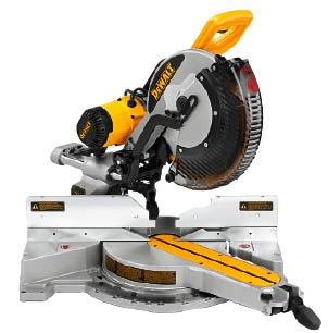 dewalt dw718 sliding compound miter saw professional. Black Bedroom Furniture Sets. Home Design Ideas