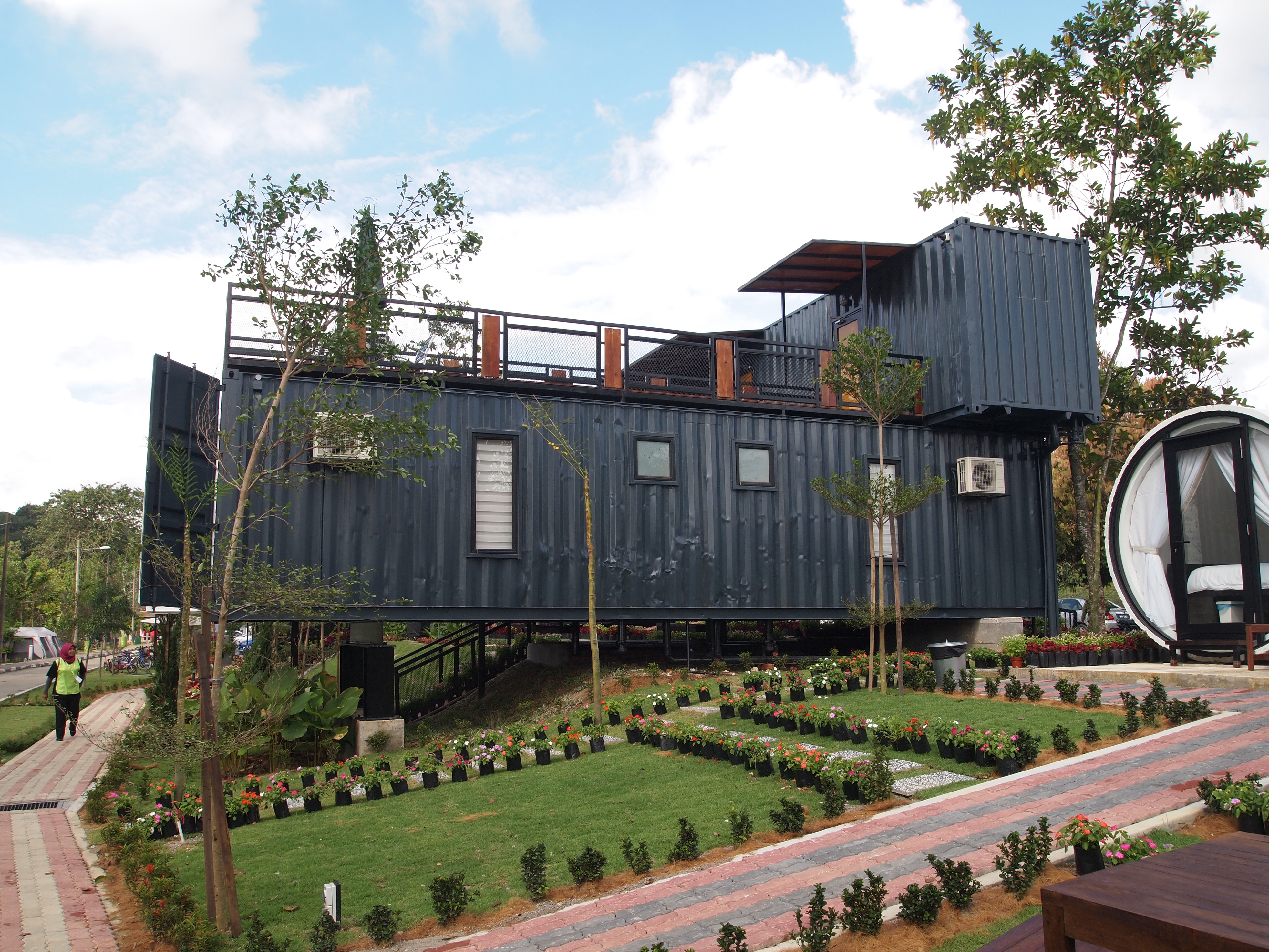 Coming home to a shipping container builder magazine affordable housing building materials - Container store home ...