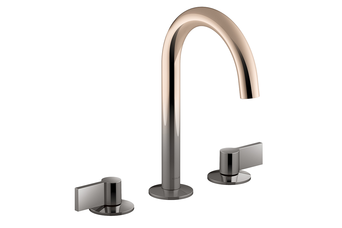 New ombr finish by kohler architect magazine products - Kohler two tone bathroom faucets ...