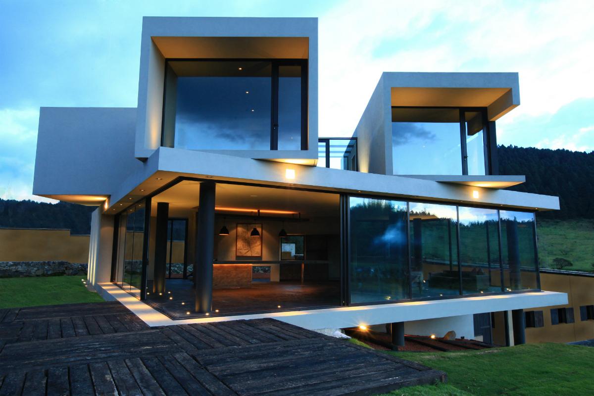 Rancho del arbol architect magazine c digo z mexico for Modern view decking