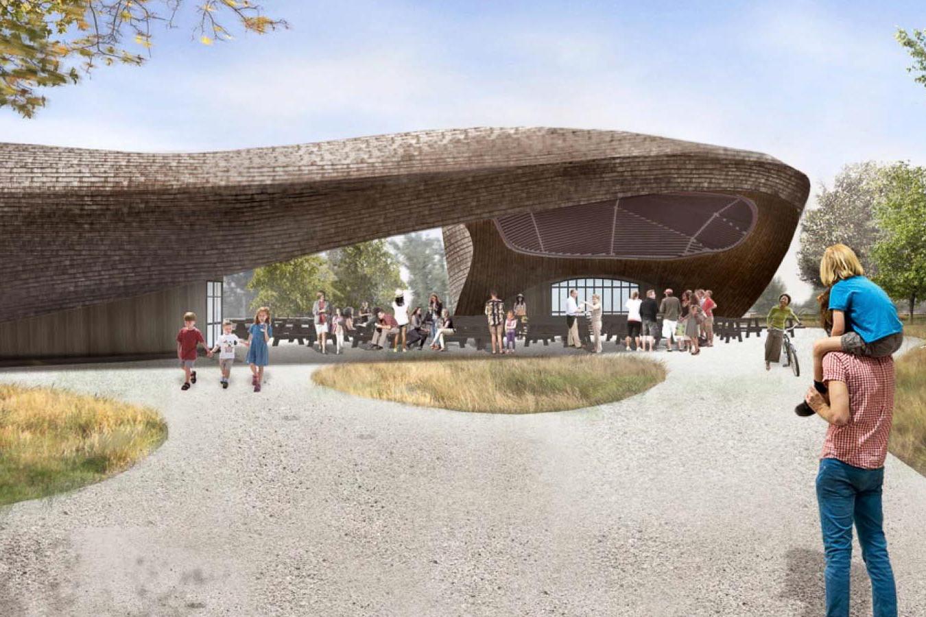 Sacramento S Bridge District Draws From Dutch Influences