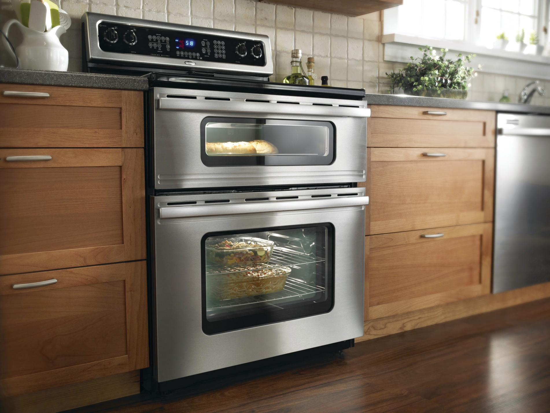 Whirlpool Gold Freestanding Double Range | Remodeling | Appliances, Kitchen,  Natural Metals, Metal, Whirlpool