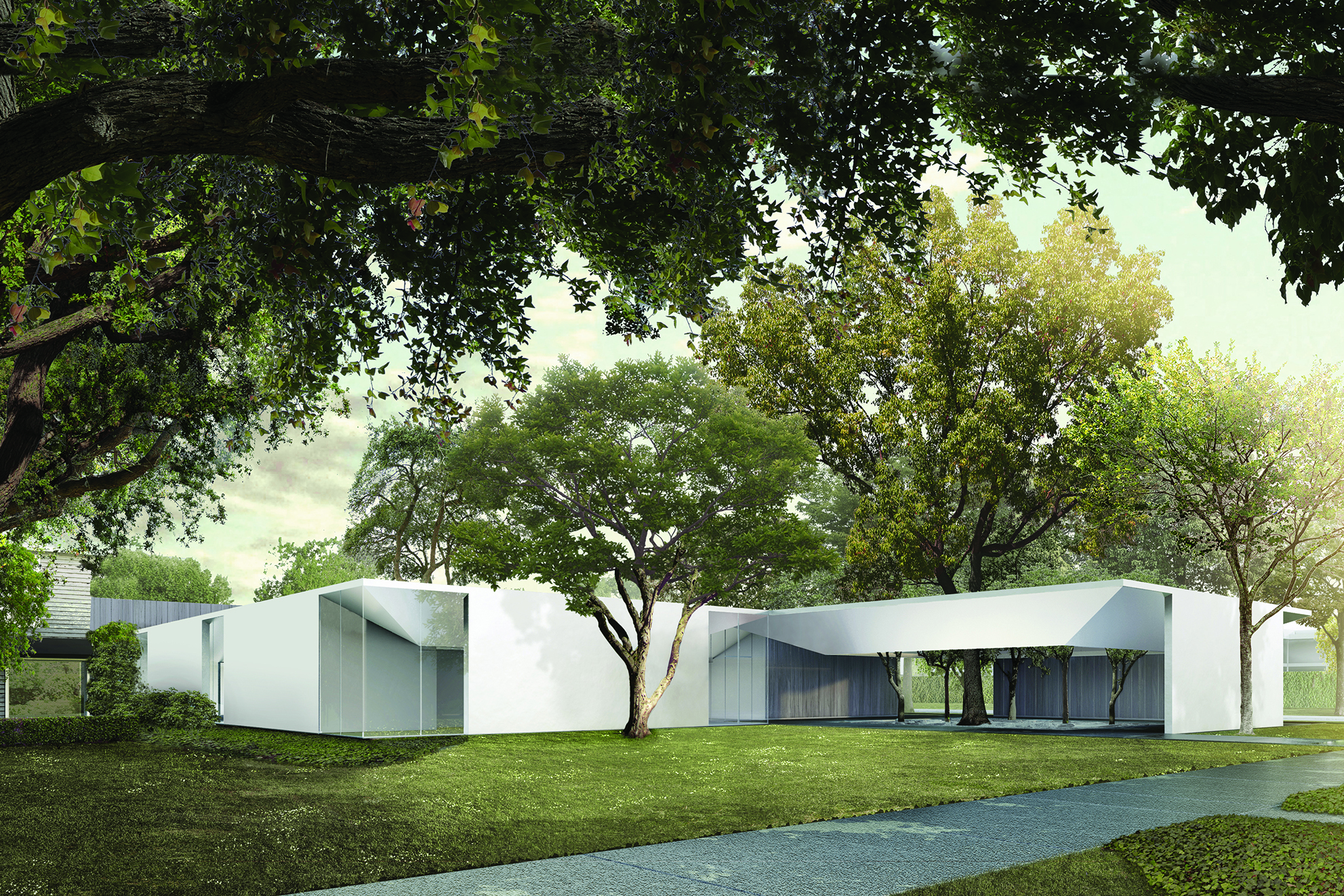 Menil Drawing Institute Architect Magazine Johnston