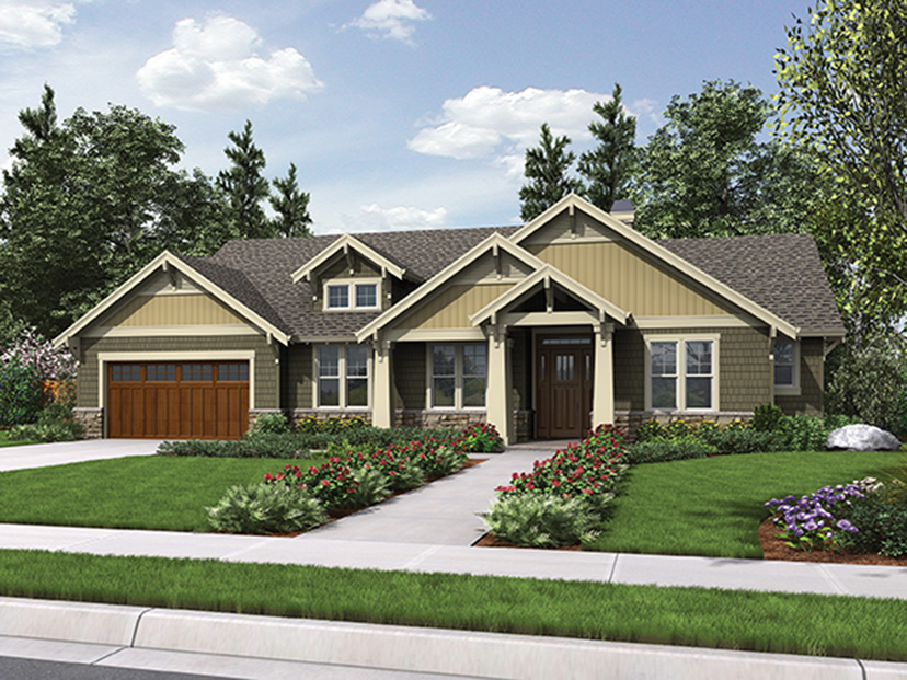 Four great new house plans under 2 000 sq ft builder 2000 sq ft house images