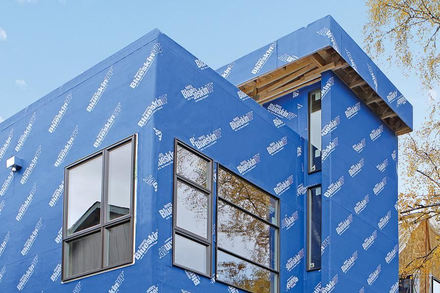 Self Adhered Housewrap Jlc Online Moisture Barriers