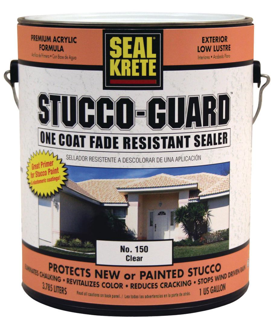 Seal Krete Stucco Guard Acrylic Sealer Builder Magazine