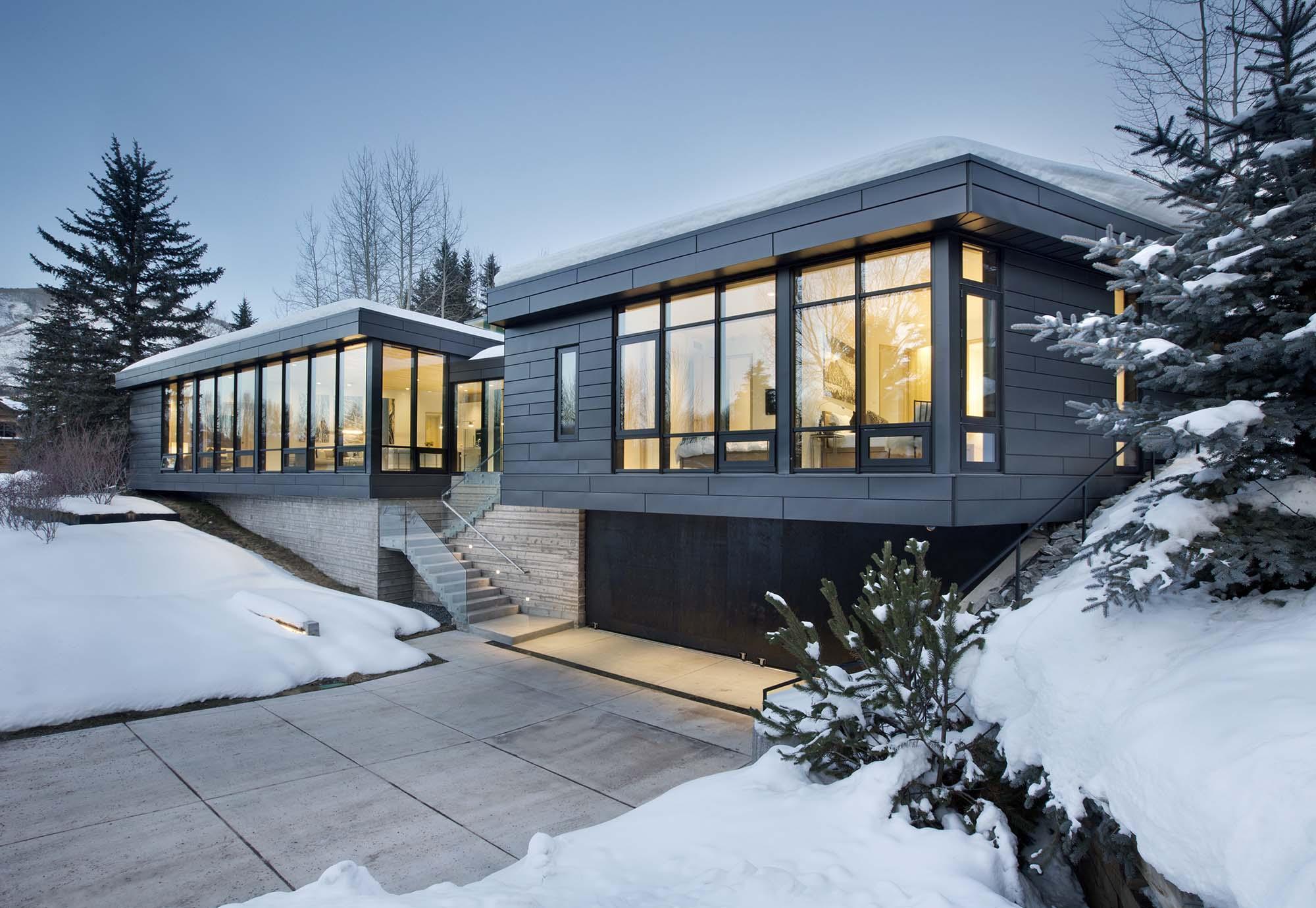 Zinc House Architect Magazine Studio