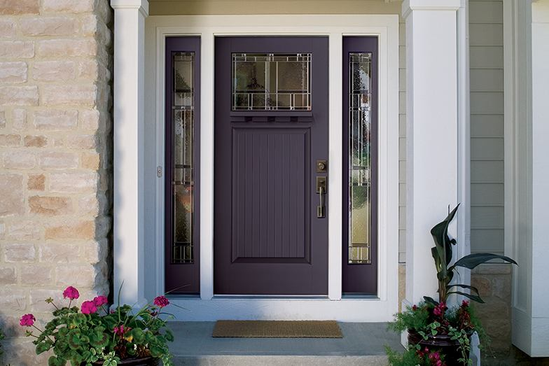 Look For Bold  Bright Entry Doors In 2014