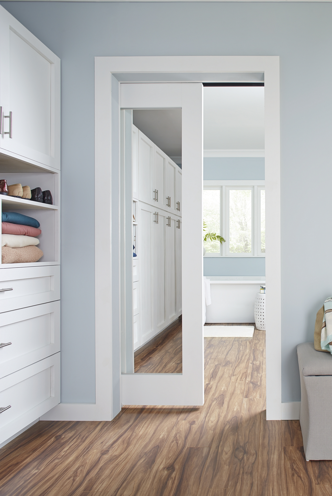 Wall Mount Pocket And Bi Fold Closet Doors Architect