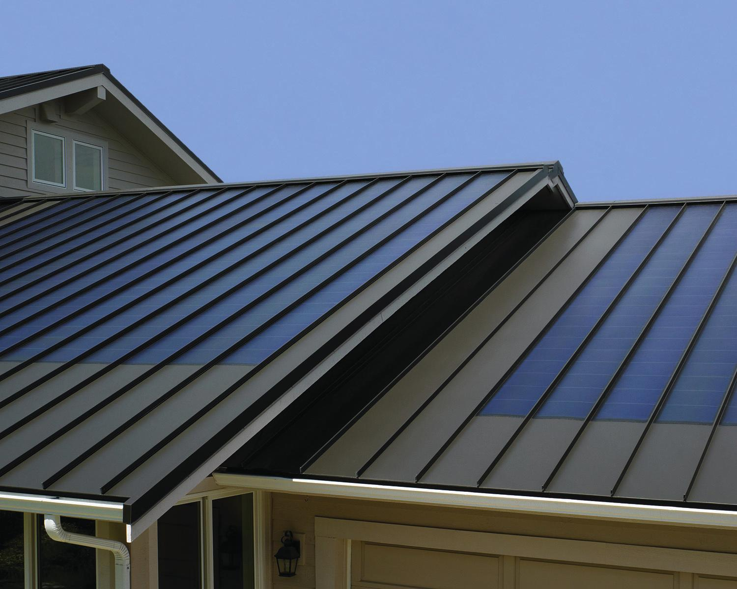 Custom bilt metals fusionsolar system remodeling for New roofing products
