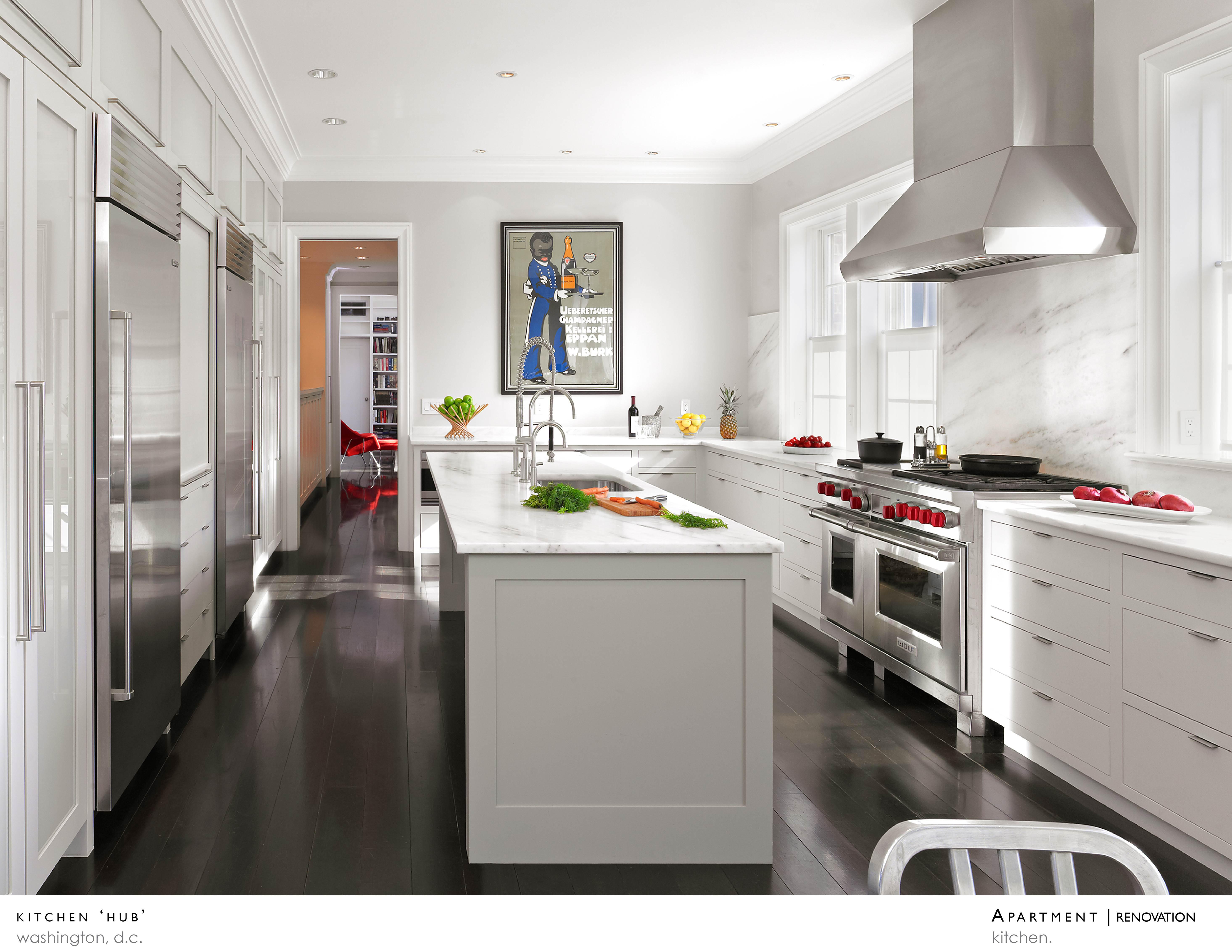 Kitchen 39 hub 39 architect magazine treacy eagleburger for Design hub interior decoration llc