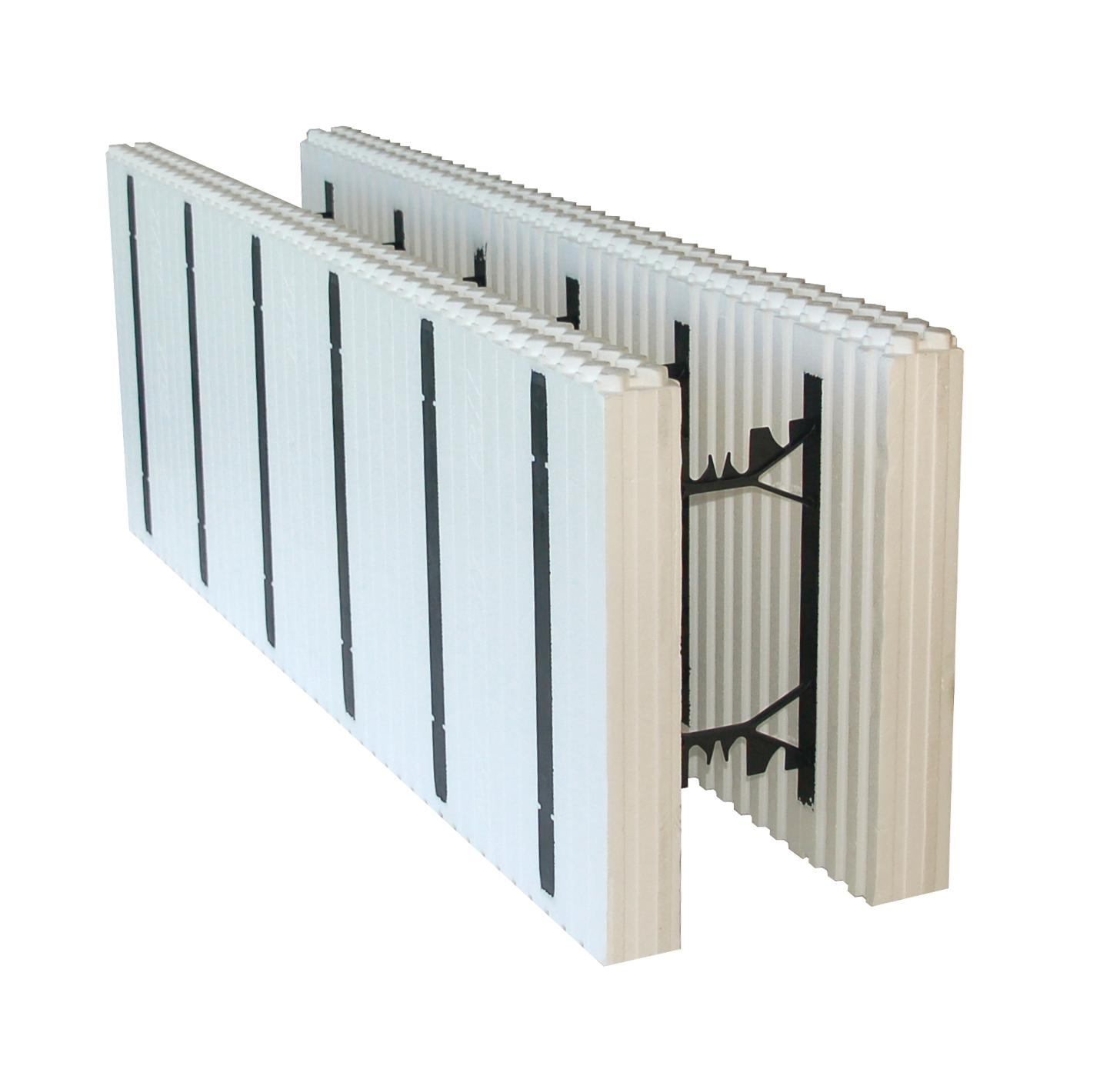 Preassmbled interlocking blocks from arxx ecobuilding for Foam block wall construction