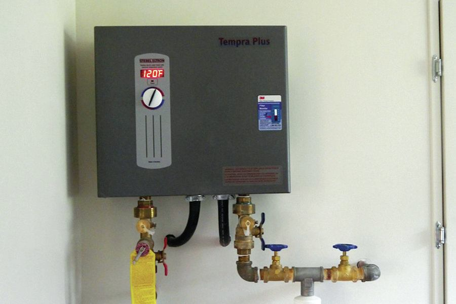 Technology Management Image: Electric Water Heating For A Low-Load Home