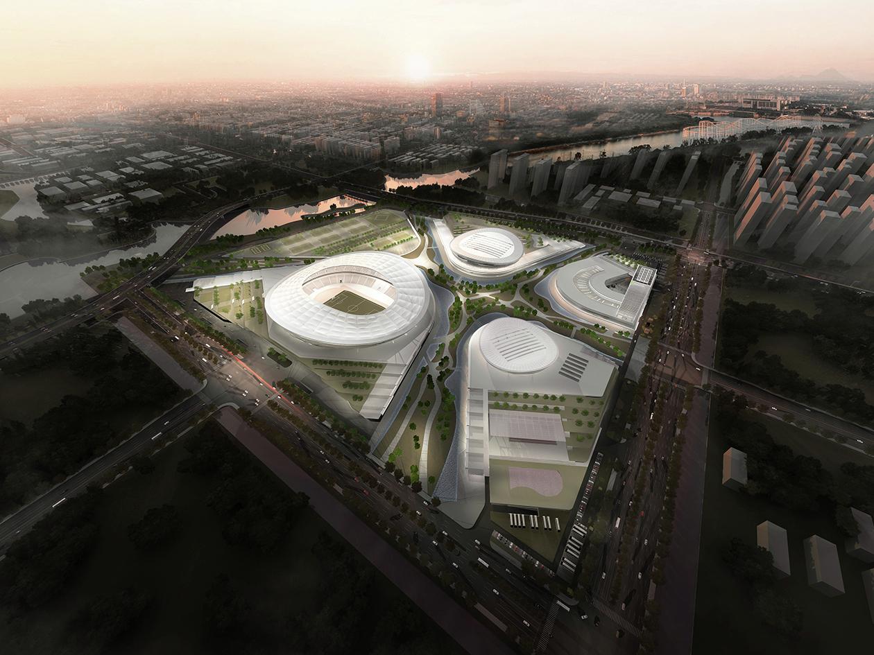Suzhou Industrial Park Sports Center Architect Magazine