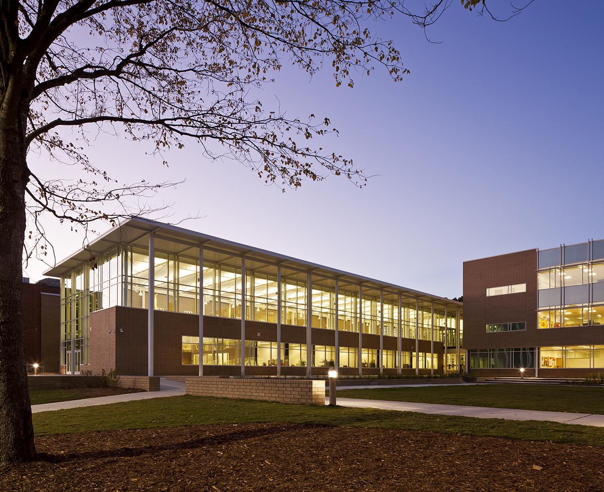 D.M. Therrell High School   Architect Magazine   Perkins