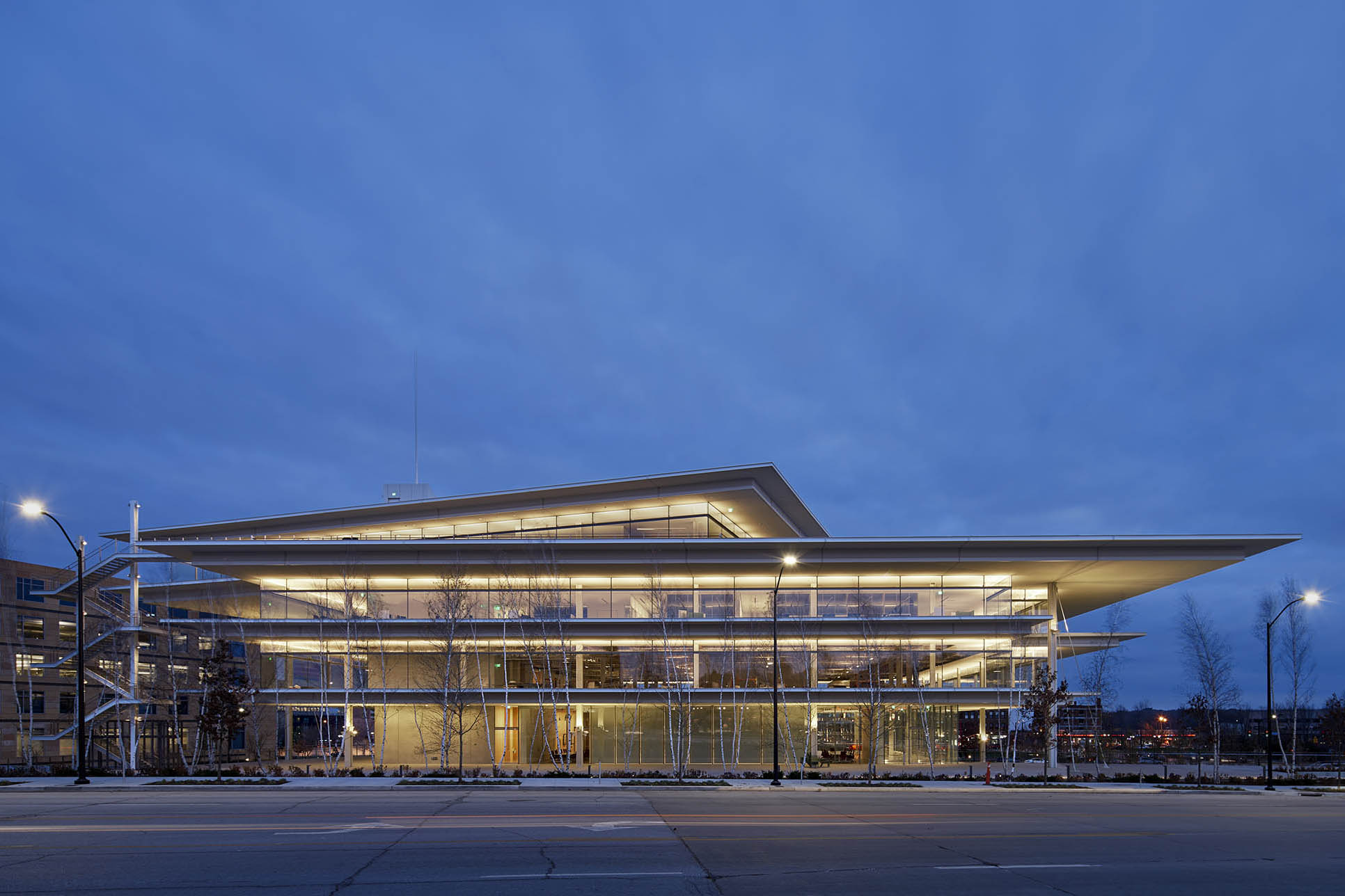 Krause Gateway Center By Renzo Piano Building Workshop