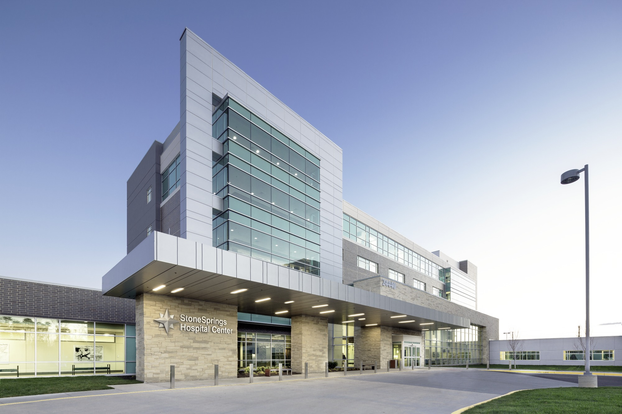 Stonesprings Hospital Center Architect Magazine Gresham Smith And Partners Dulles Va Usa