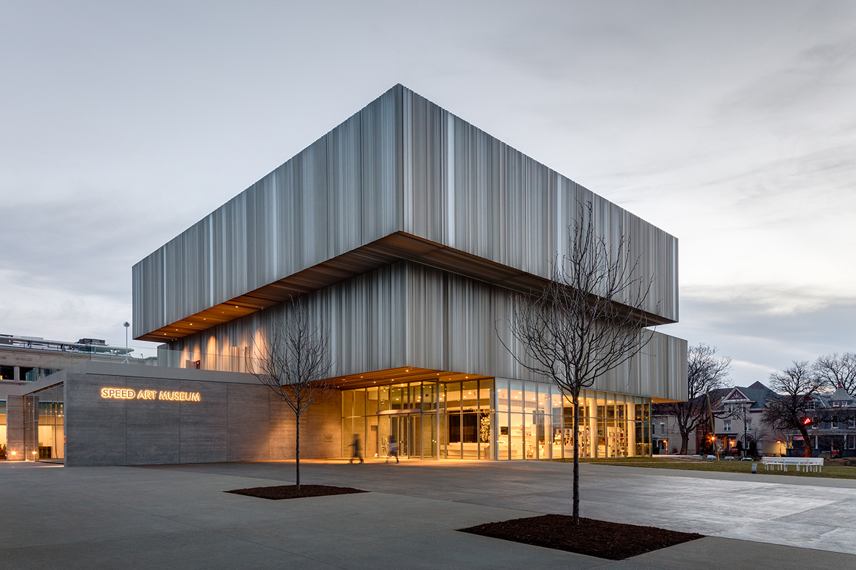 Expanded speed art museum opens in louisville architect for Building design images