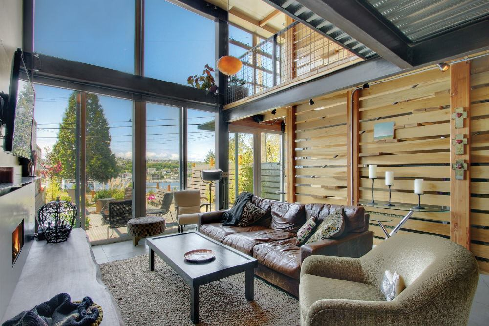 Lakeview Townhomes In Seattle Offers Hip Design And