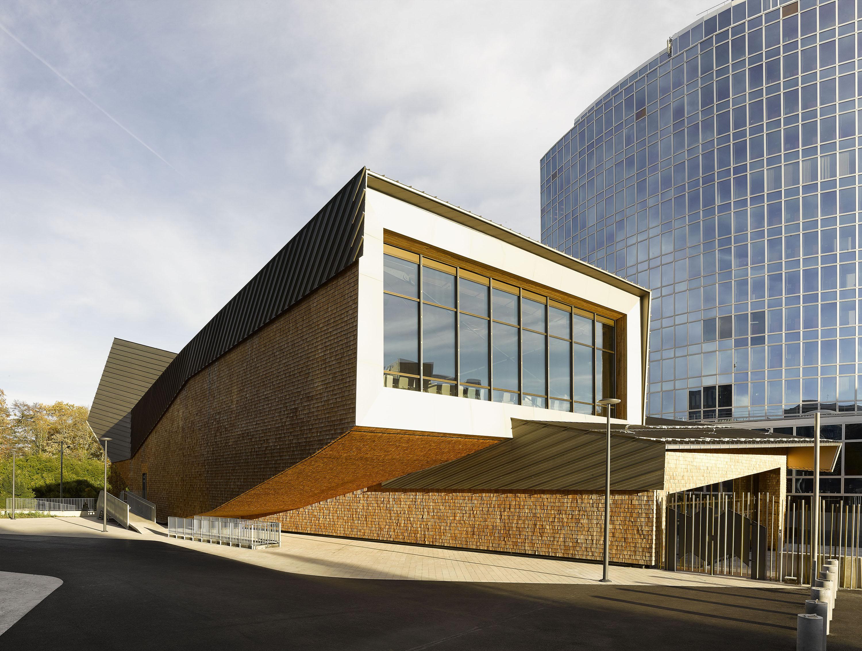 Wipo Conference Hall Architect Magazine Behnisch