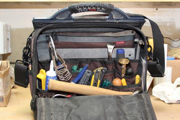 Jobsite Tool Box >> A Finish Carpenter's Bag of Tricks: Part 1   Tools of the ...