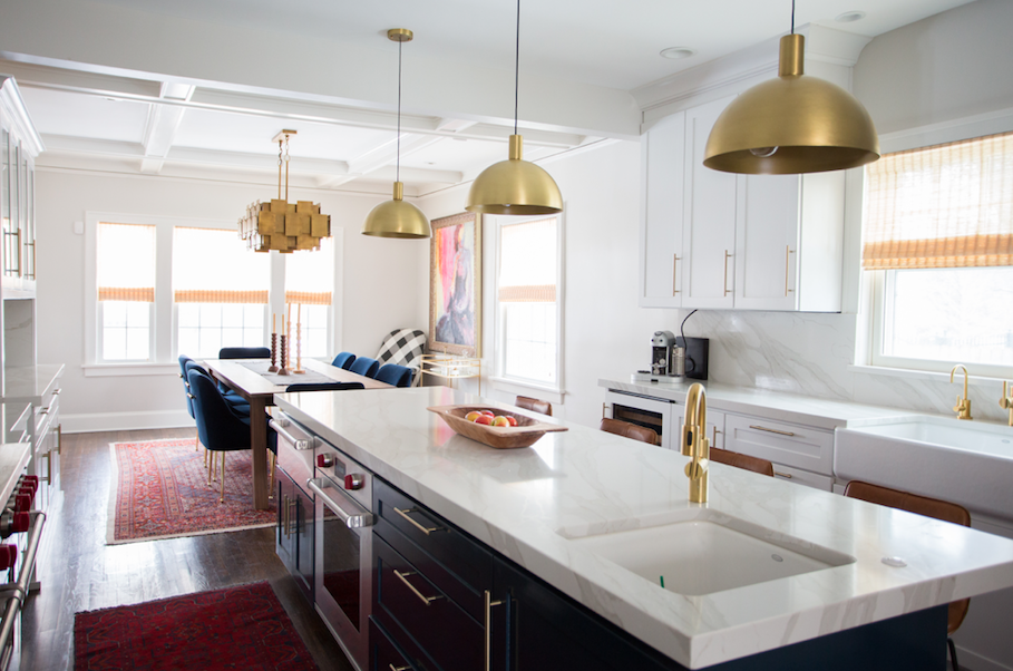Houzz Islands At The Center Of Most Kitchen Renovations Remodeling