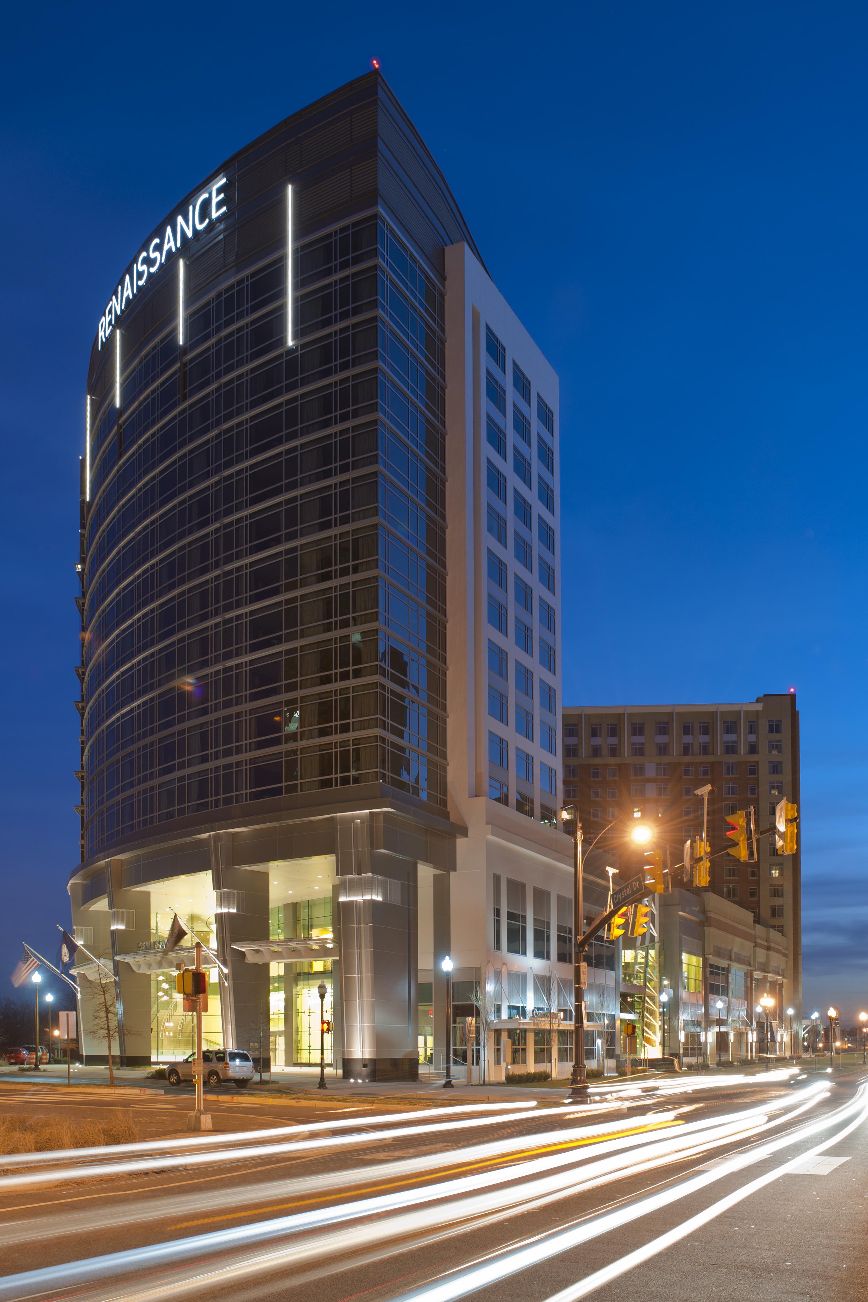 Arlington Capital View Renaissance & Residence Inn | Architect Magazine