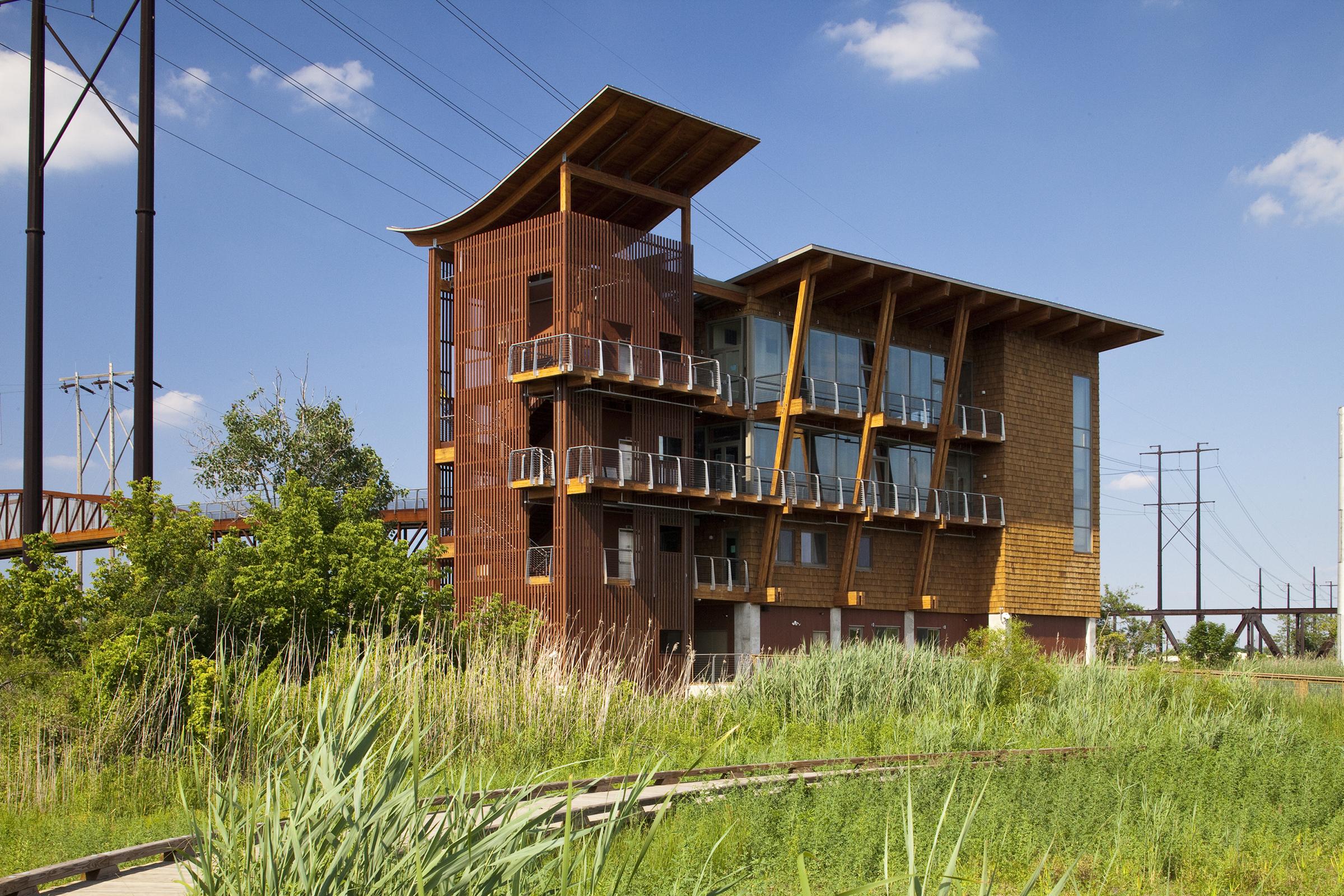 Dupont environmental education center architect magazine for Architects corporation
