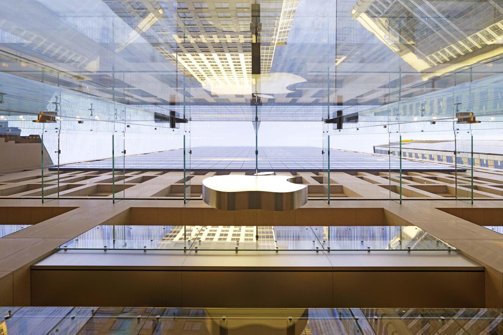 Apple Store Sydney Architect Magazine Bohlin Cywinski