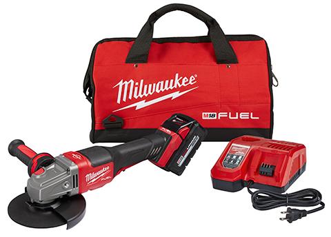 Milwaukee M18 Fuel 4 1 2 6 Braking Grinders Builder