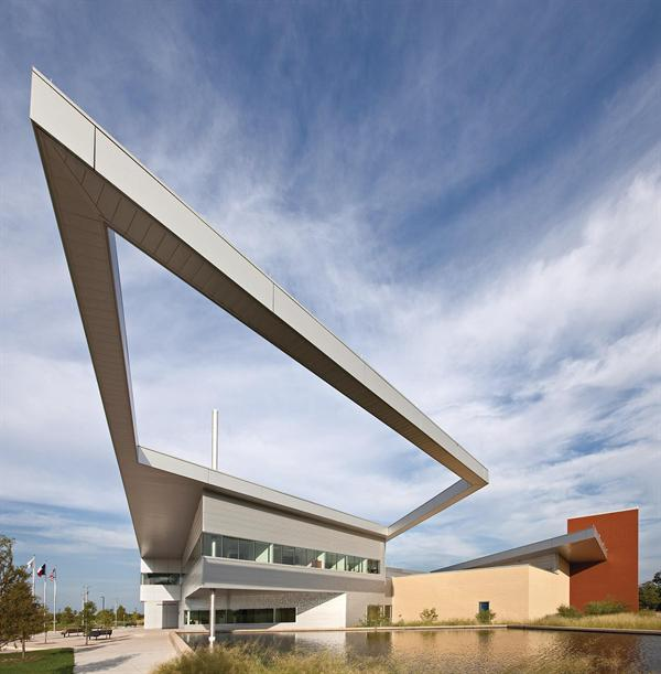 Public Safety Building Cantilevered Roof Architect Magazine