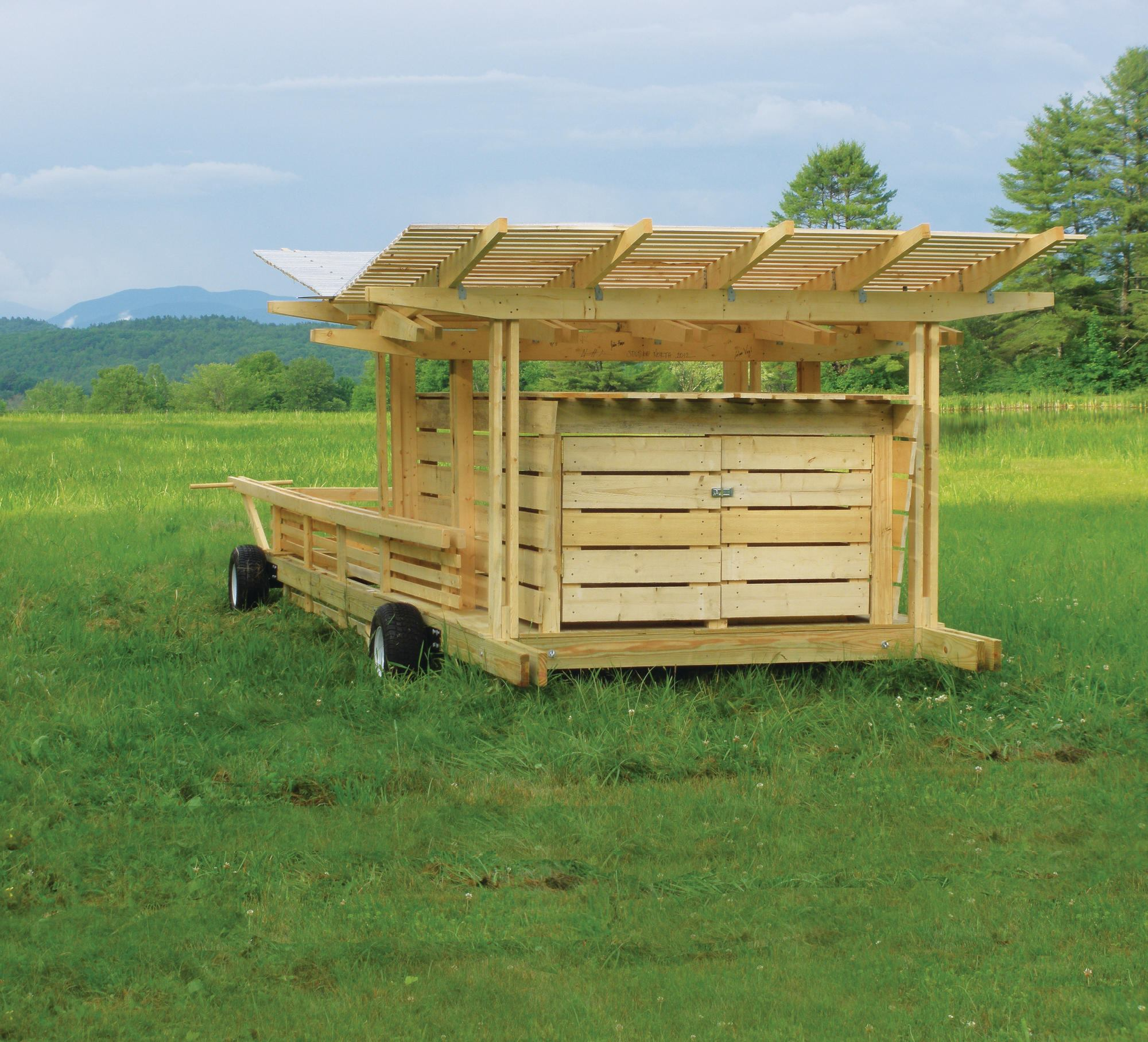 Students Build A Rolling Pig Pen Residential Architect