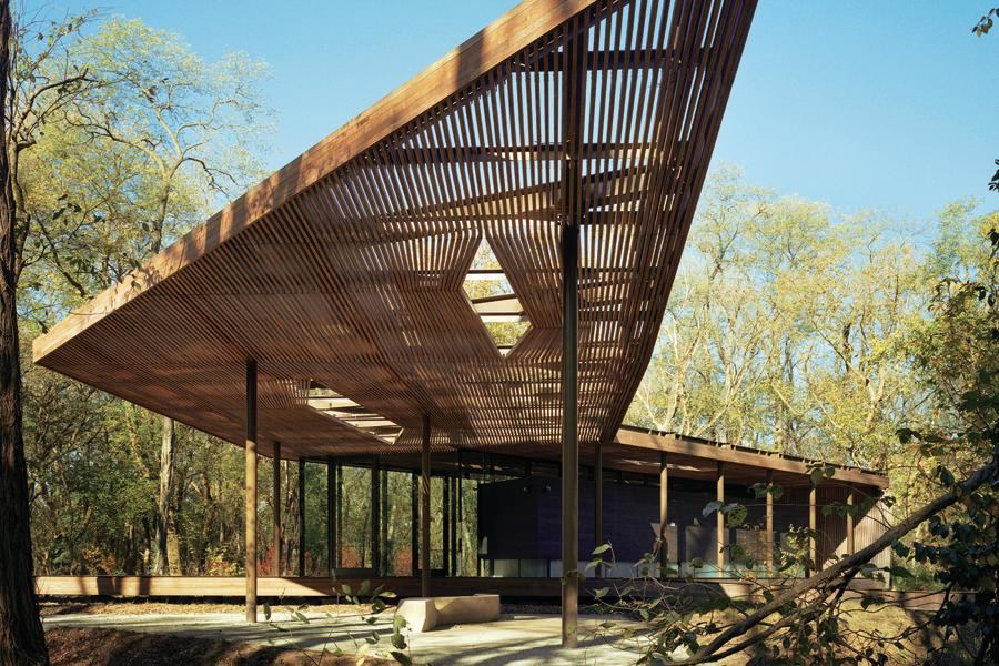 Ruth Lilly Visitors Pavilion Architect Magazine