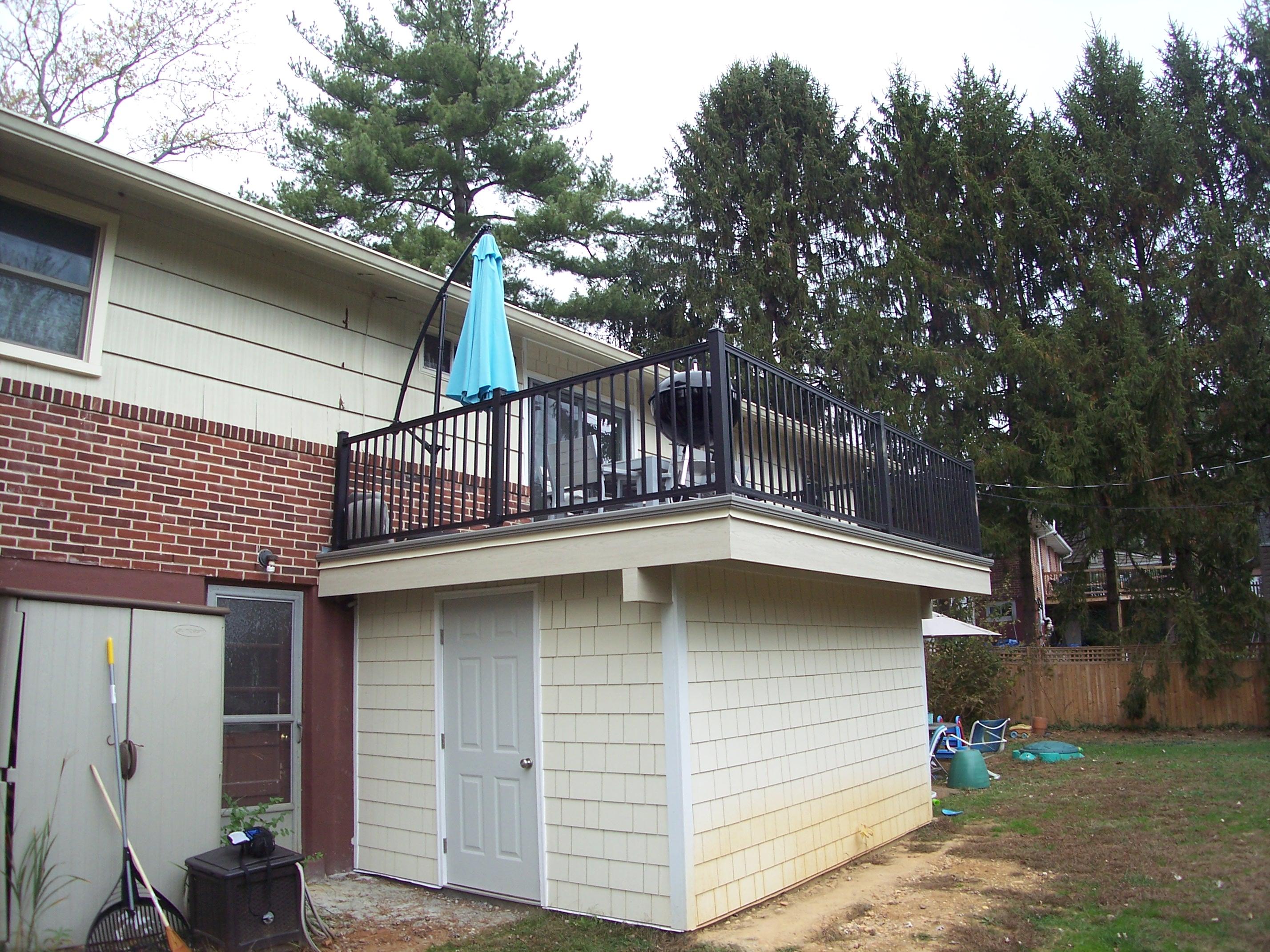 Waterproof Decking | Professional Deck Builder ...