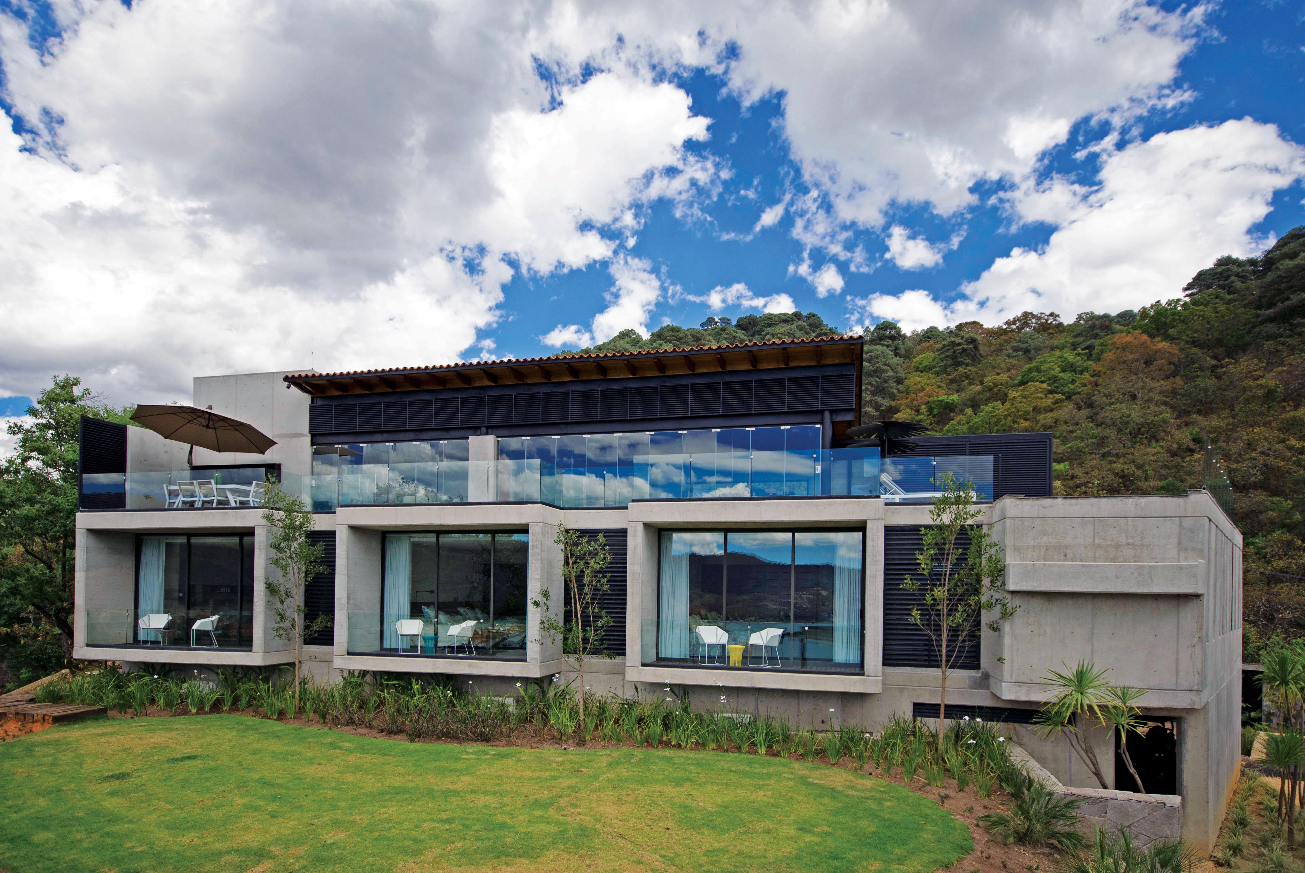 Rr house architect magazine buro arquitectura mexico for Casa moderna bogota