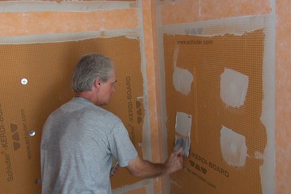 Framing A Shower