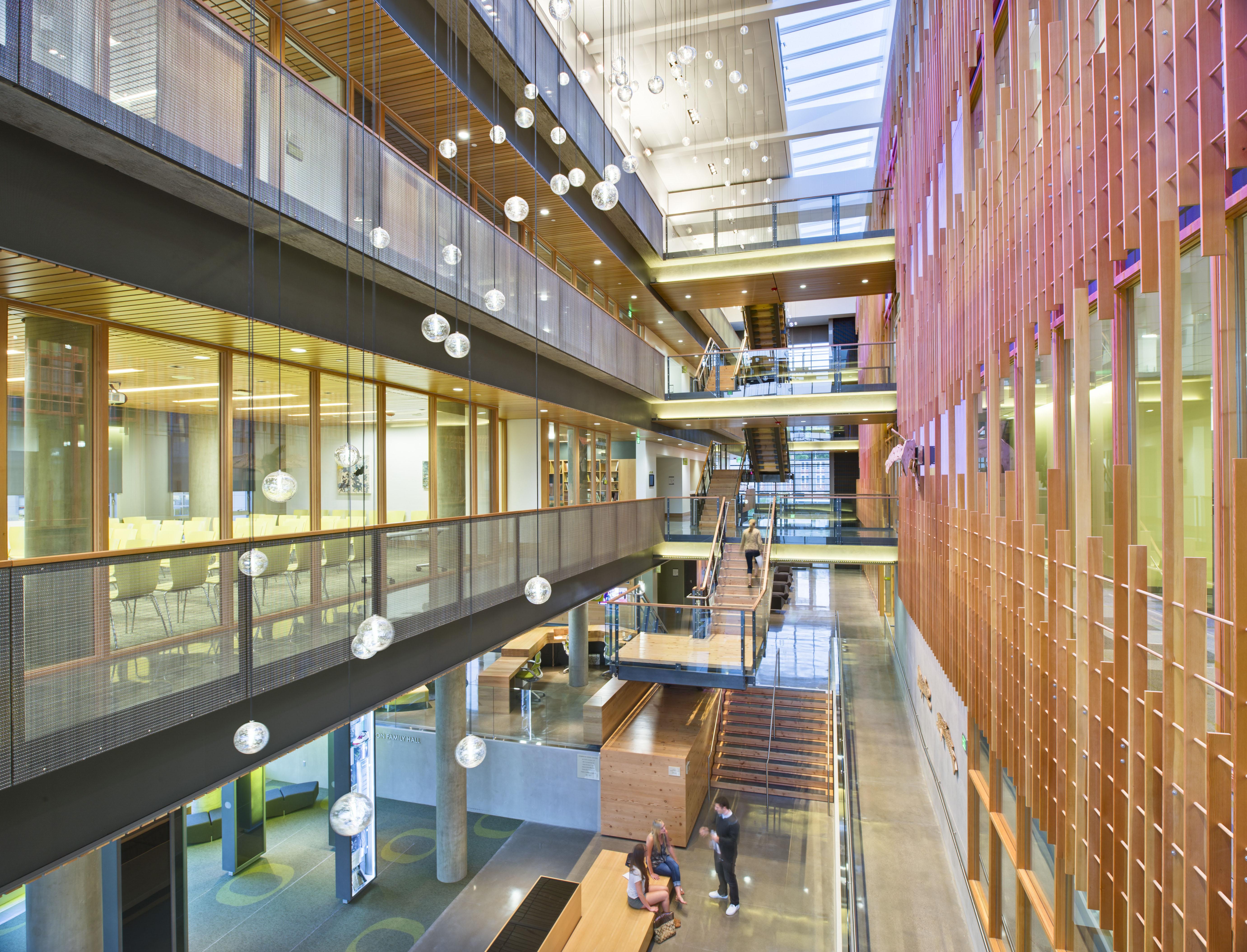Ford alumni center architect magazine opsis for Residential architects eugene oregon