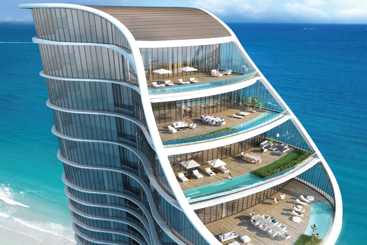 The Ritz Carlton Residences Sunny Isles Beach Architect Magazine Arquitectonica Florida Multifamily New Construction Architects