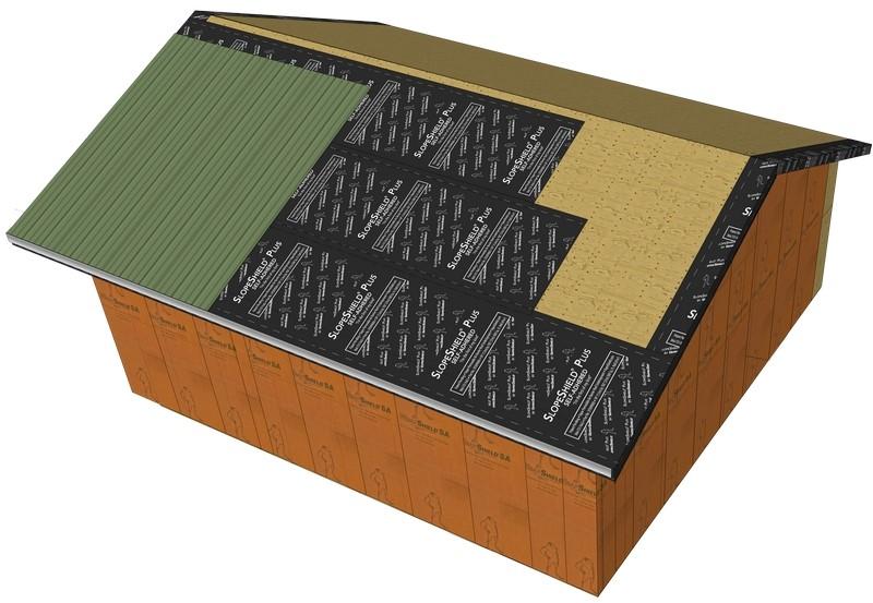 Vaproshield Announces New Self Adhered Roof Membrane