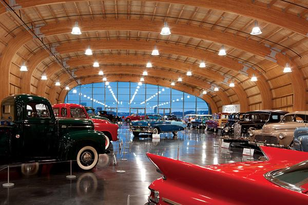 The Inspiration And Design Behind The Roof Over Lemay America S Car Museum Architect Magazine Roofing Wood Metal Seattle Tacoma Bellevue