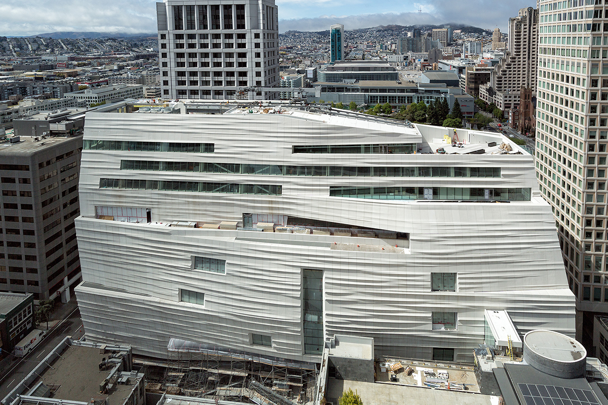 Expanded san francisco museum of modern art will open in for Contemporary art museum san francisco