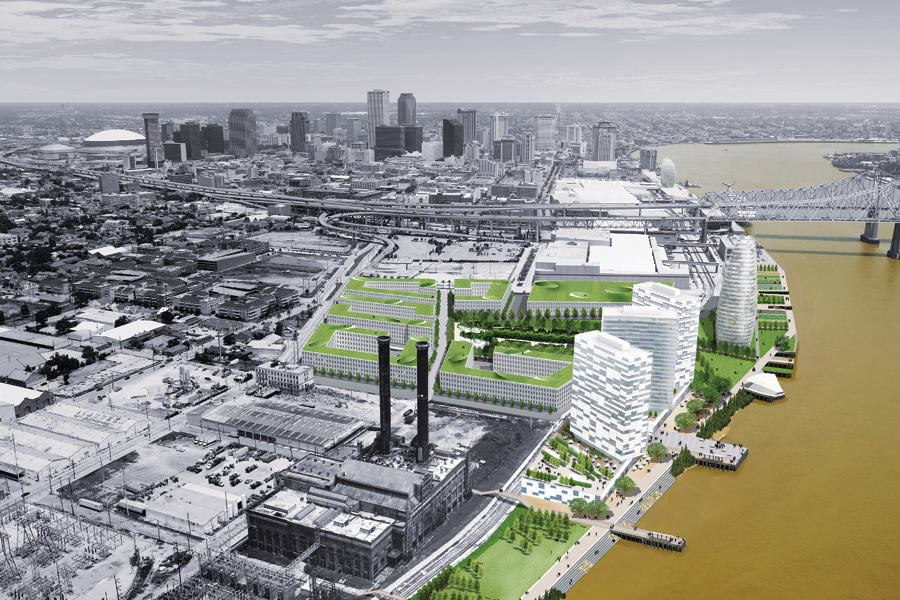 Reinventing The Crescent Riverfront Development Plan Architect Magazine Urban Design