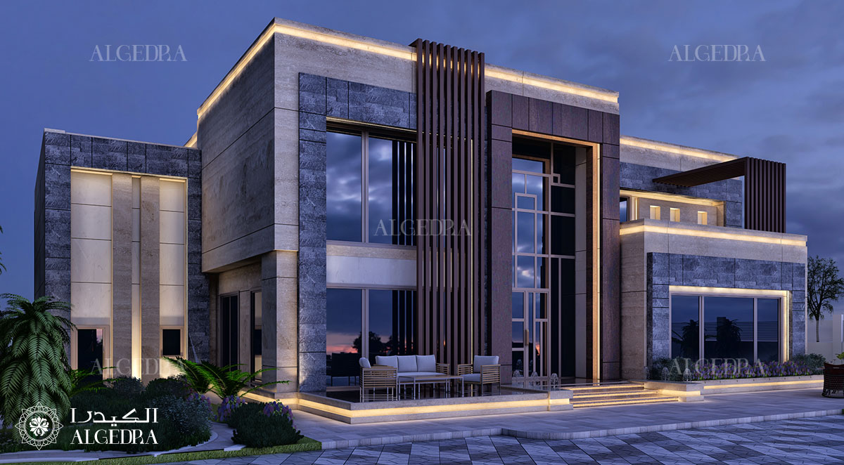 Luxury Modern Villa Design In Dubai Architect Magazine