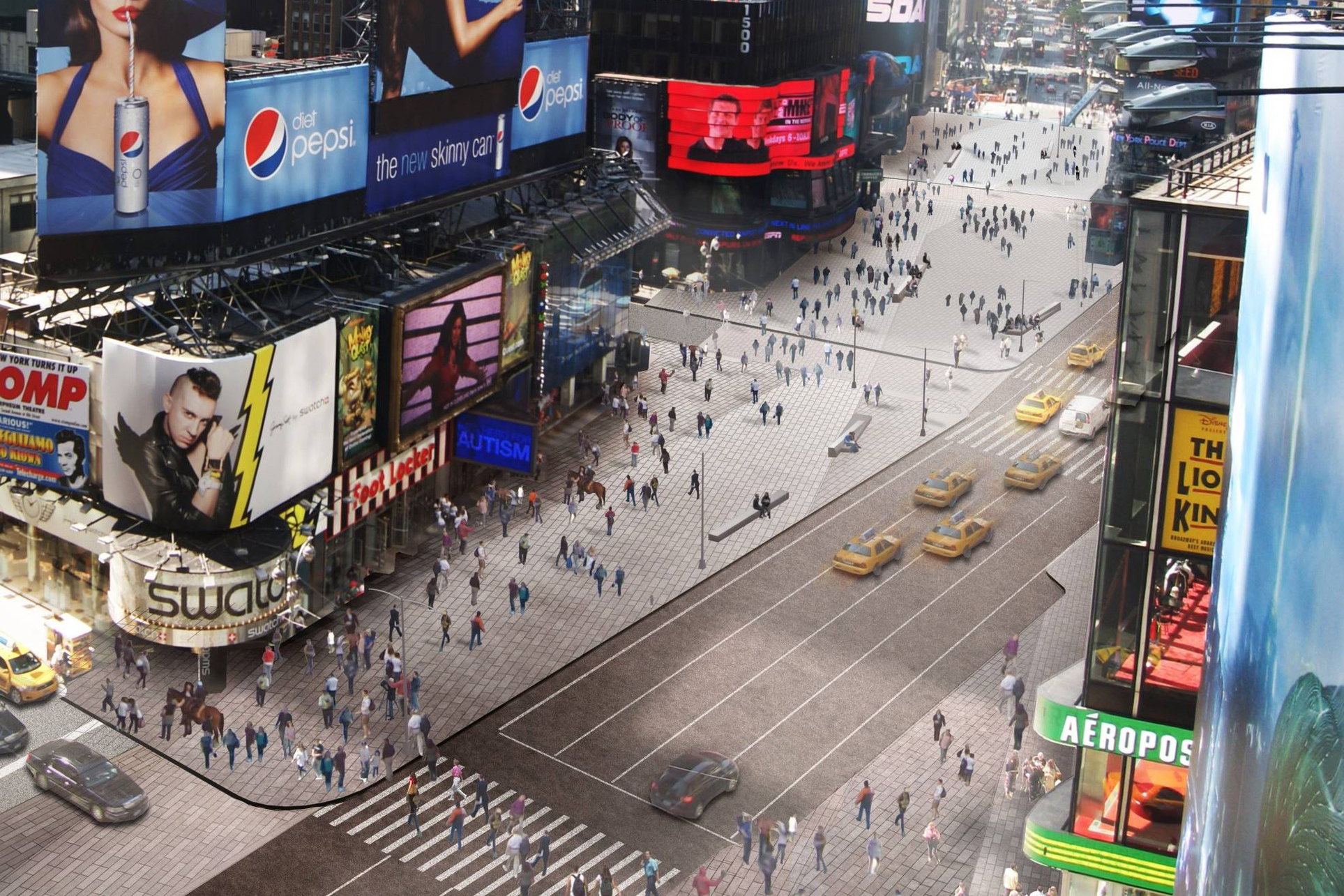Times Square Finally Grows Up  Architect Magazine  Urban Design, Urban Development -2199
